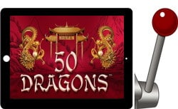free 50 dragons iPad slots