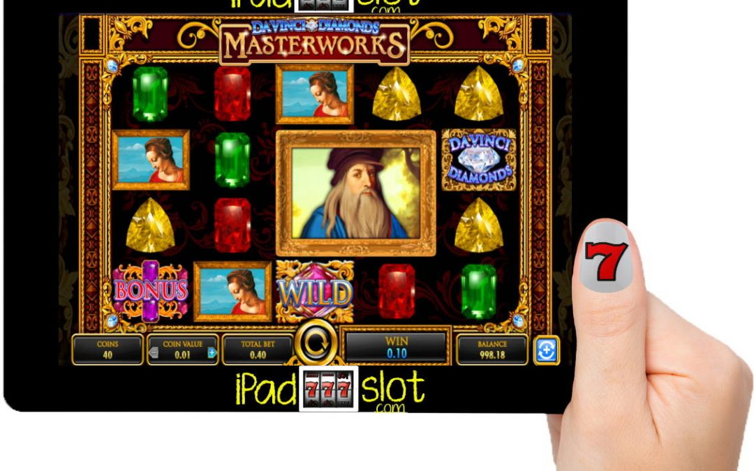 IGT Da Vinci Diamonds Masterworks Free Slot Game