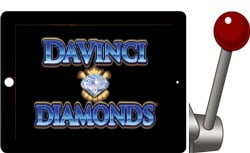 Da Vinci Diamonds free IGT ipad slots