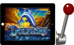 free dolphins ipad slot