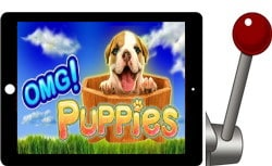 free omg puppies ipad slot
