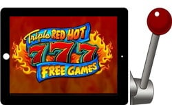 Triple Red Hot 777 free ipad slot