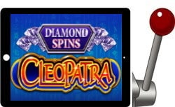 Cleopatra Diamond Spins free ipad slot