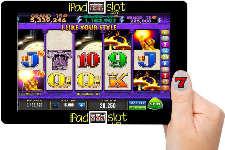 Flame of Olympus Lightning Storm Pokies (Slot) Free Play Version