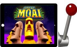Great Moai free ipad slot