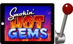 Smokin' Hot Gems free ipad slot
