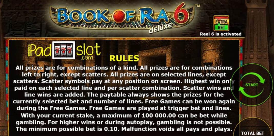 Free Slot Games Book Of Ra