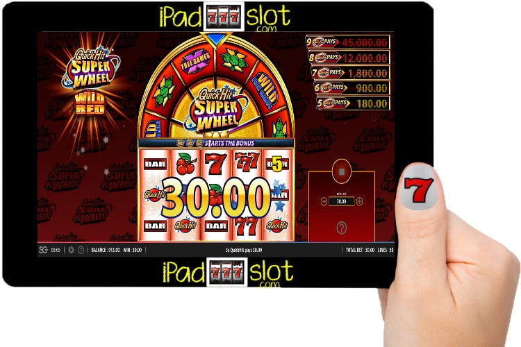 Bally Quick Hit Super Wheel Wild Red Free Play Guide