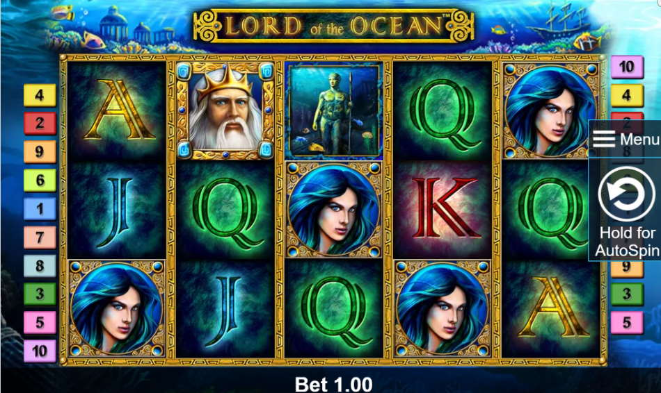 Lord Ocean Slot Machine Game Free Play